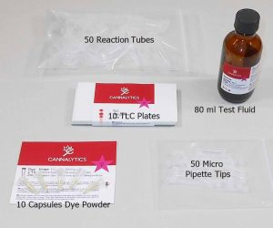 40 50 THC CBD Hemp Test Kit Refill