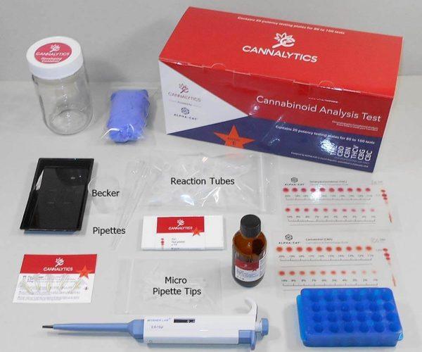 Cannalytics Supply Expert Test Kit